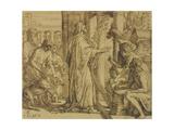 David the Psalmist - Adoration  1854