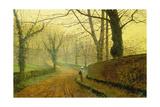 Autumn in Stapleton Park  1891
