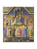 Coronation of the Virgin  from the Altarpiece from S Domenico  Florence