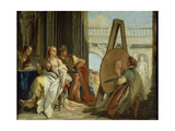Alexander and Campaspe at the House of the Painter Apelles  1740