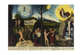 Fall of Man Kind and Salvation  Altarpiece  1529