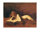 Woman Reading  C 1880-1890
