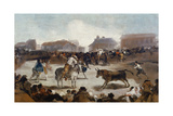 A Village Bullfight  C 1812-29
