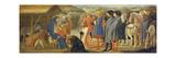 The Adoration of the Kings (Centre Predella)  1426