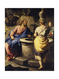 Christ and the Samaritan Woman at the Well  C 1697