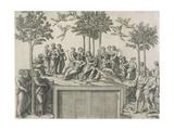 Mount Parnassus (After Raphael)  Ca  1510-15