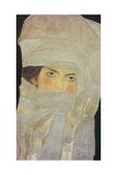 Melanie  the Sister of the Artist with Silver-Coloured Cloths  1908