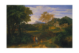 Classical Landscape  Probably 1660s