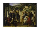 St  Roch Giving Alms  1817