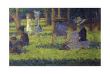 Study for 'A Sunday Afternoon on the Island of La Grande Jatte': Mothers and Children  1886