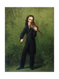 Nicolo Paganini  after 1830