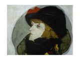 Portrait of Ida Roessler  1912