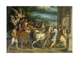 The Triumph of Titus and Vespasian  C 1537