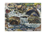 Mountain Stream Near Champéry  1916