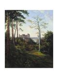 The Castle Colditz  1828