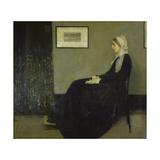 Portrait of the Artist's Mother  1871