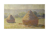 Haystacks at the End of the Summer  at Giverny  1891