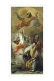 The Vision of St Anna  1759