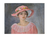 Lady with a Pink Hat