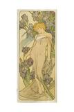 """Iris  (Aus Der Serie Von Dekorationstafeln """"Blumen)  1898"""