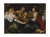 Lot and His Daughters  C 1610-11