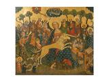 Mitteltafel Des Altars Mit Maria Und Dem Einhorn  Um 1410-1420