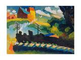 Railway Near Murnau  1909