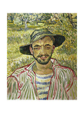 Portrait of a Young Farmer  1889