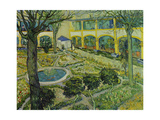 The Asylum Garden at Arles  1889