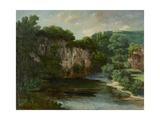 Oraguy Rock (La Roche Oraguay  Vallon De Maisieres  Doubs)  1860