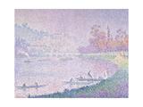 Die Seine Bei Saint-Cloud  1900