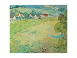 Sunny Meadow Near Auvers  1890