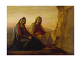 The Two Maries at Christ's Tomb  1858