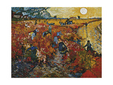 The Red Vineyard in Arles  1888