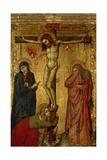 Christ on the Cross with Mary  John and Magdalena