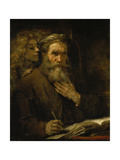 Der Hl Matthaeus Und Der Engel  1661