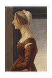 Portrait of a Lady with Cap (La Bella Simonetta)