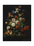 Still Life with Flowers and Fruit  1707