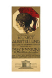 Poster for an Exhibition of Secessionist Art  Ca 1898