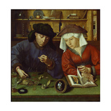 The Money Lender and His Wife  1514