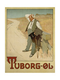 Advertising Poster for Tuborg Beer  1900