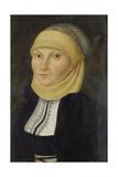 Bildnis Der Katharina Von Bora  Gemahlin Martin Luthers