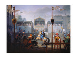 The Joust of the 14th Century  1812