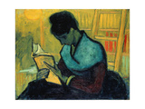 The Novel Reader (Une Liseuse De Romans)  Arles  November 1888