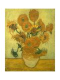 Fourteen Sunflowers in a Vase, 1889 Giclée par Vincent Van Gogh
