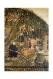 Der Weinberg Des Herrn (Martin Luther Im Weinberg)  Epitaph Fuer Paulus Ebe