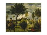 Ideal Landscape with Horseman  C 1822