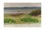 Bay Near Honfleur  1915