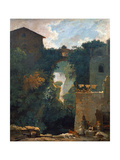 The Falls of Tivoli  1760-1762