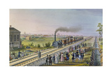 Opening of the First Railway Line from St Petersburg to Pavlovsk in 1837